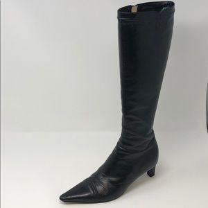 Chanel knee high boots, size 36